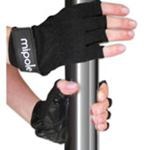 MiPole Dance Pole Gloves (Pair) Small - Black 2029-90