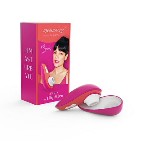Womanizer Liberty Lily Allen Rebellious Pink