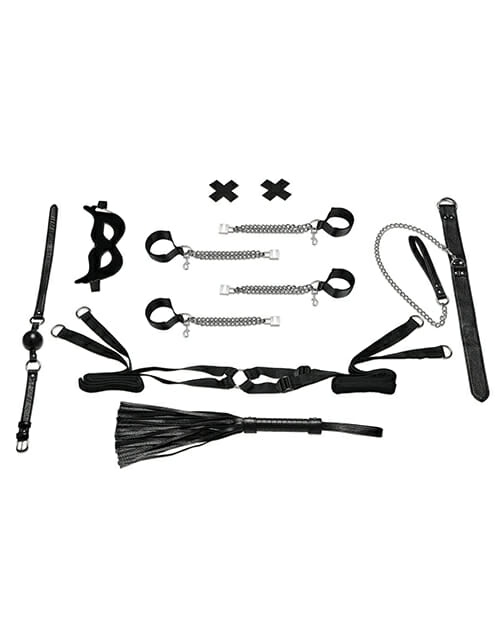 All Chained Up Bondage Play 6 piece Bedspreader Set
