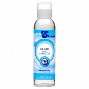 CleanStream Relax Desensitizing Anal Lube 4 oz AC323