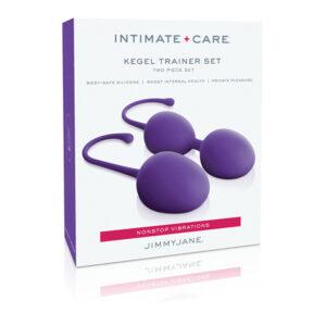 Jimmyjane Intimate Care Kegel Trainer Set Purple JJ10602