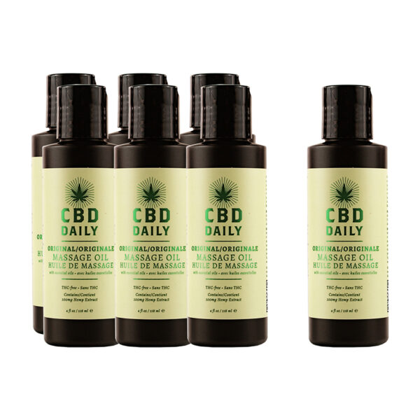 Earthly Body CBD Daily Massage Oil Intro Deal