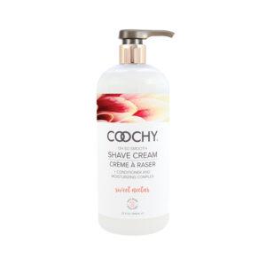 Coochy Shave Cream Sweet Nectar 32 oz