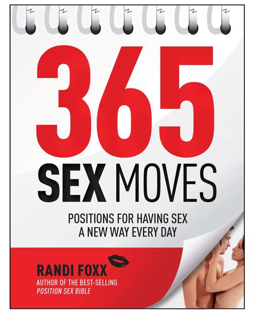 365 Sex Moves Book By Randi Foxx
