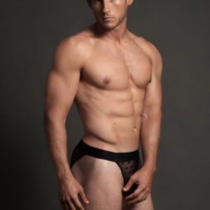 Allure Men's Luca L003 Star Bikini Brief