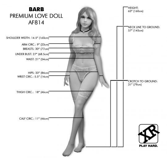 Barb Premium Love Doll AF814