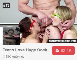 Teen Loves Huge Cock