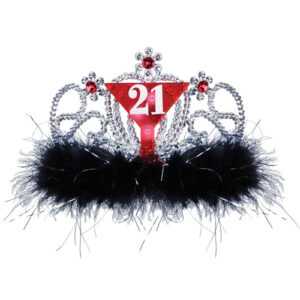 21st Birthday Flashing Tiara 8632-03