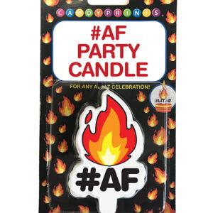 #LITAF Party Candle
