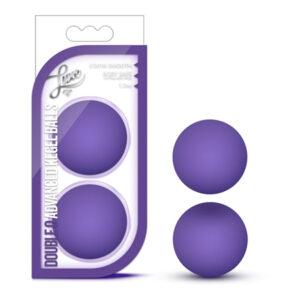 Luxe - Double O Advanced Kegel Balls - Purple