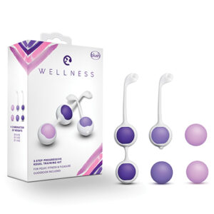 Blush Wellness Kegel Training Kit - Purple