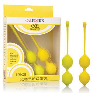 Kegel Training Set - Lemon
