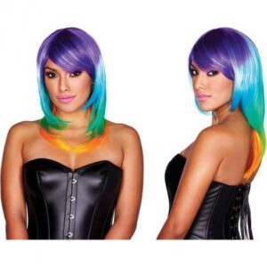 Rainbow Wig CNVXGN-PW-8044