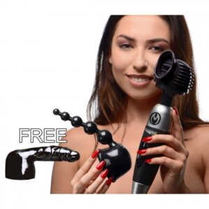 Master Series Ultimate Thundergasm Wand Kit with Free Attachment AF693