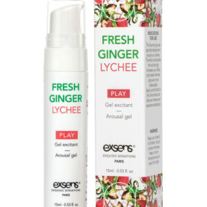 EXSENS of Paris Arousal Gel - 15 ml Fresh Ginger Lychee
