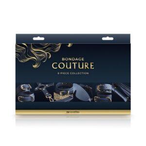 Bondage Couture 6-Piece Kit Blue 76752