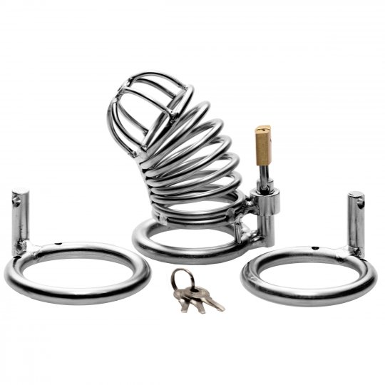 Master Series The Jail House Chastity Device AB813