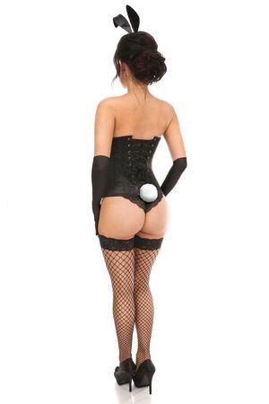Daisy Lavish 4 Piece Seductive Bunny Corset Costume LV-1325